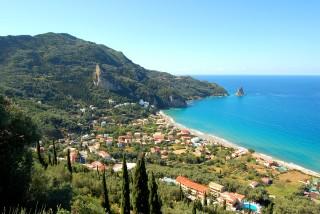 corfu island stevens on the hill